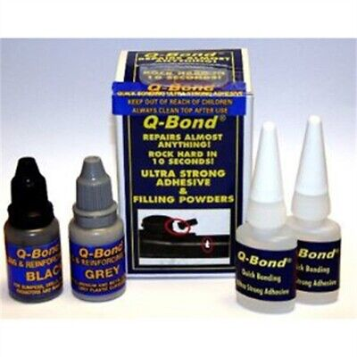 $ CDN24.22 • Buy Quick Bonding Adhesive Kit, Two 10ml Bottles Adhesive, With Black And Gray Filli