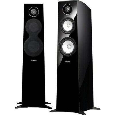 AU3006 • Buy NSF700 YAMAHA 3 Way Floorstanding Speakers Gloss Black 3 WAY FLOORSTANDING