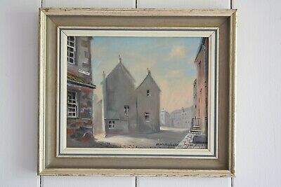 The Didgey St Ives Cornwall Oil On Board By George Horne, Signed And Framed Art • 175£