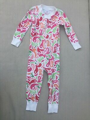 $13.80 • Buy HANNA ANDERSSON Girls One Piece Pajamas Size 18-24 Months (80cm)