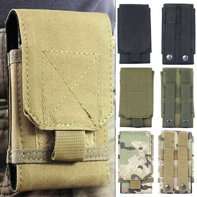 $8.99 • Buy For IPhone11 Pro MAX X XS XR Tactical Military Molle Phone Pouch Belt Loop Case