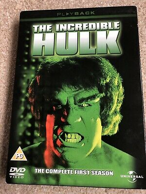 The Incredible Hulk: The Complete First Season [DVD] • 3.98£