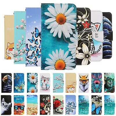 $ CDN6.47 • Buy For Samsung S20/S20+/S20 Ultra S9 S8 Painted Leather Case Magnetic Wallet Cover