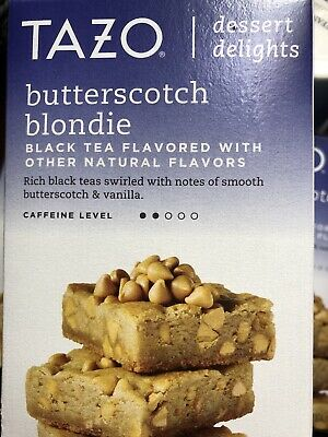 Tazo Dessert Delights Butterscotch Blondie Black Tea Filterbags (15 Count) • 7.87£