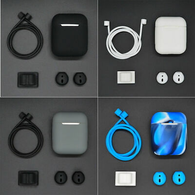 $ CDN10.84 • Buy For Airpods Headset Earhook Accessories 5 In1 Silicone Cover Case Earphone Kit