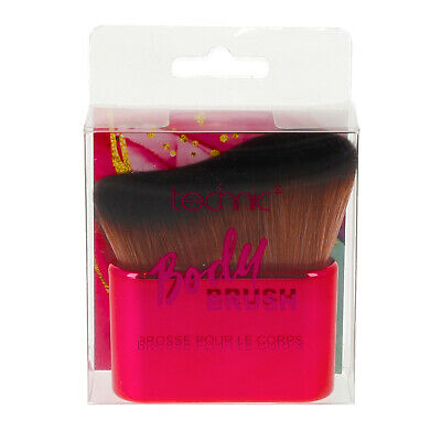 Large Shimmer Bronzing Bronzer Pressed Powder & Brush For Face Body By Technic • 12.99£
