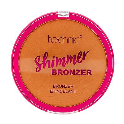 Shimmer Bronzing Bronzer Pressed Powder For Face & Body Large 25g By Technic • 5.99£