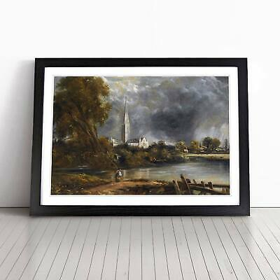 £22.95 • Buy John Constable Salisbury Cathedral From The Meadows Framed Picture Print Art