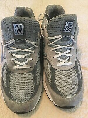 $44.99 • Buy New Balance 990v4 Mens Size 14 Sneakers Grey Made In The USA Near Mint