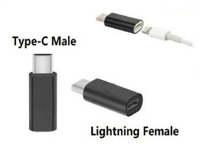 AU8.99 • Buy Lightning To Type C Adapter USB C Male To Apple Female 8 Pin