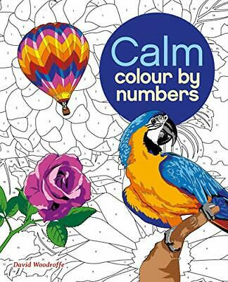 £7.60 • Buy Colour By Numbers: Calm (Colouring Books) (Arctu By Arcturus Publishing New Book