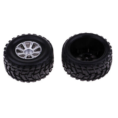 2x 1:18 Scale Right Tire Tyre Black For Wltoys A969 RC Truck Buggy Body Part • 5.77£