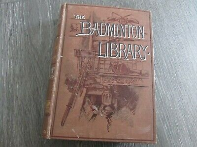 £22.99 • Buy Badminton Library Billiards 1896 By Longmans & Co First Edition Major Broadfoot