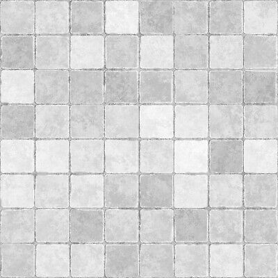 £1.76 • Buy Grey Mosaic Tile Stickers 150mm Transfer Decal Kitchen Bathroom MS2-3