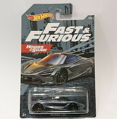 AU10.74 • Buy HOT WHEELS FAST AND FURIOUS McLaren 720S