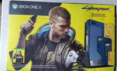 $549.99 • Buy Xbox One X Cyberpunk 2077 Limited Edition 1TB Console Bundle - NEW IN HAND!🔥🔥
