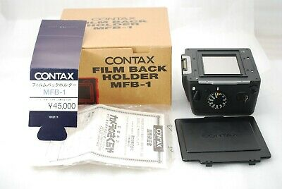 $ CDN477.93 • Buy Contax 645 Film Back Holder  MFB-1 For Contax 645   Excellent In BOX  #3746