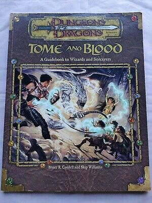 AU65 • Buy Dungeons & Dragons 3e Tomb & Blood WIZARDS SORCERERS Guidebook 2001 3.5 Dnd D&d