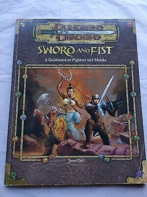 AU65 • Buy Dungeons & Dragons 3e 3.5 Sword And Fist Guidebook FIGHTERS MONKS Game 2001