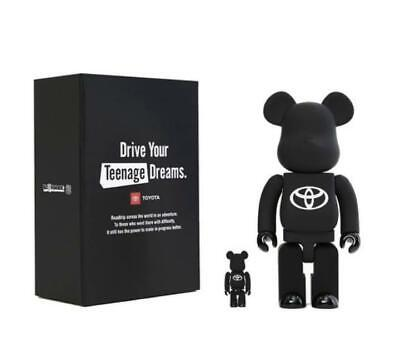 $295 • Buy Medicom Toy BE@RBRICK TOYOTA  Drive Your Teenage Dreams  100% & 400% Limited