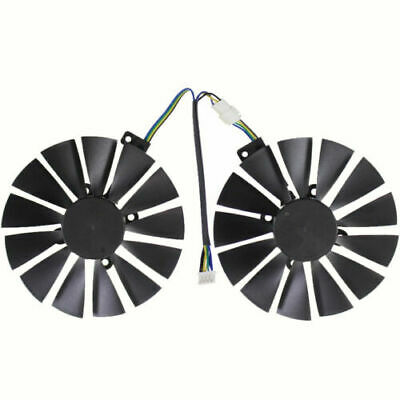 $ CDN21.19 • Buy Graphics Card Fan For ASUS CERBERUS GeForce GTX1070TI A8G GDDR5 FDC10M12S9-C