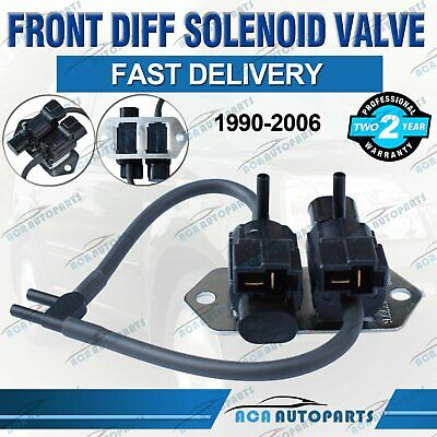 AU30.40 • Buy For Mitsubishi Front Diff Solenoid Valve Pajero 1990-06 NG NH NJ NL NM NP Delica