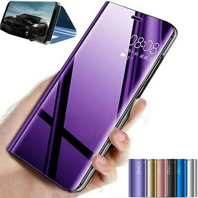 AU8.88 • Buy For Sony Xperia 1 Ii 10 Ii 5 10+ Smart View Mirror Leather Flip Stand Case Cover