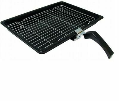 £9.99 • Buy UNIVERSAL Oven Grill Pan Non Stick Medium Small Cooker Tray With Handle Rack