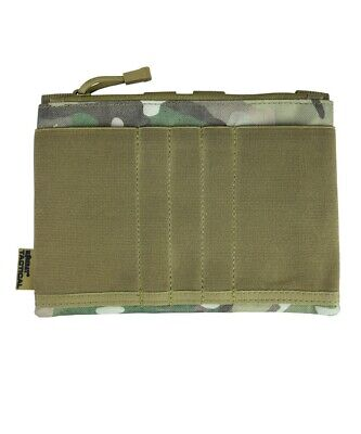 Kombat Guardian Elasticated Admin Panel Mag Pouch,molle,black,coyote,green,btp • 9.95£