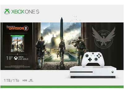$349.99 • Buy Xbox One S 1TB Console - Tom Clancy's The Division 2 Bundle