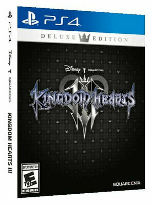 $40 • Buy PS4 Kingdom Hearts III 3 Deluxe Edition, PlayStation 4, 2019 *BRAND NEW, SEALED*