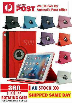 AU8.95 • Buy 360 Rotate Leather Case Cover For Apple IPad4/3/2 7th 8th 6th Gen Air1/2 Mini3/4