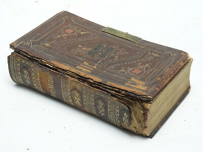 £124.22 • Buy ANTIQUE 19c HOLY BIBLE GEORGE EYRE And WILLIAM SPOTTISWOODE