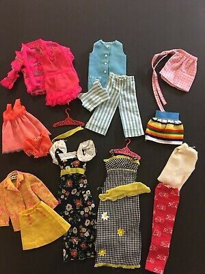 $ CDN61.23 • Buy Large Lot Of Vintage, 1960s & 1970s Francie Clothes: PEPSI  BARBIE MOD