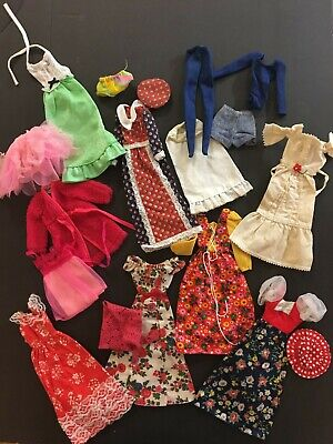 $ CDN41.61 • Buy Large Lot Of Vintage, 1960s & 1970s BARBIE Clothes