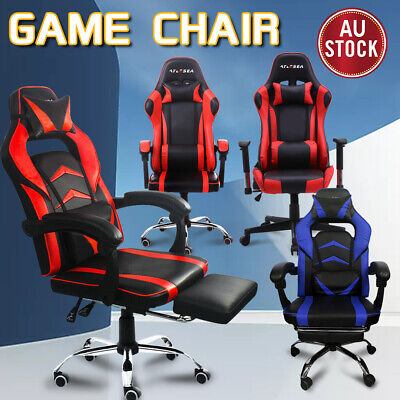 AU145.79 • Buy Gaming Chair Office Executive Computer Game Chairs Seating Racing Recliner 2020