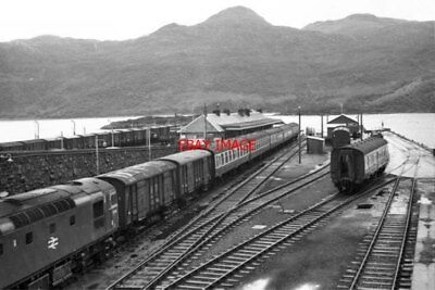 Photo  1973 Kyle Of Lochalsh Railway Station This Was In 1973 Long Before The Br • 3£