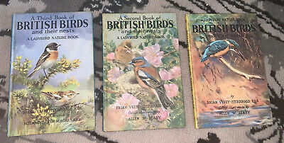 Ladybird Books X 3 British Birds & Their Nests Series 536 2'6 Net Early Editions • 35£