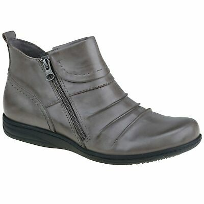AU128 • Buy Planet Shoes Womens Comfort Ripple Ankle Boot In Grey Leather