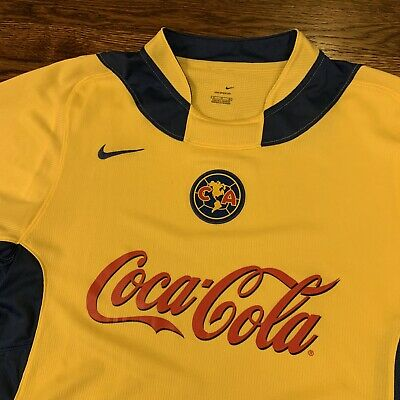 $31 • Buy Nike Club America Mexico Jersey Sphere Size XL Coca Cola Used