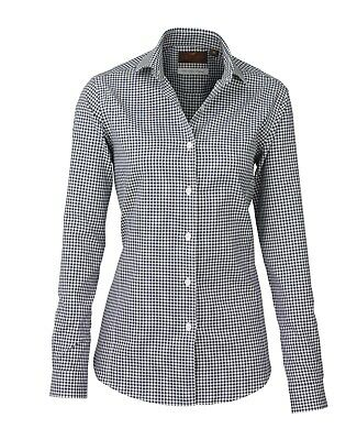 Laksen Ladies Gingham Cotton Shirts In Sizes 10 And 12 • 32£