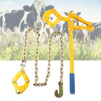 £48.07 • Buy 1.2M Heavy Duty Farm Fence Strainer Fencing Repair Wire Pulling Tool Metal Chain