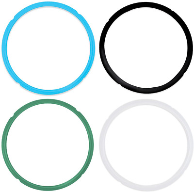 $13.99 • Buy Pack Of 4 Silicone Sealing Rings For Instant Pot Pressure Cooker 5 & 6 Quart