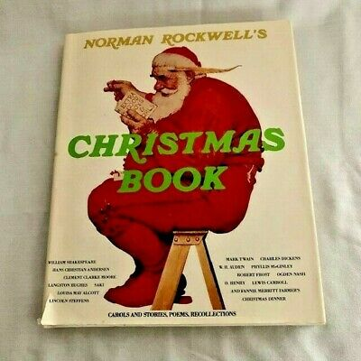 $ CDN37.94 • Buy 1977 Norman Rockwell Christmas Book Hardcover With Dust Jacket