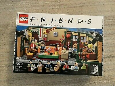 $80 • Buy LEGO Ideas: FRIENDS Central Perk HARD TO FIND (21319) IN HAND