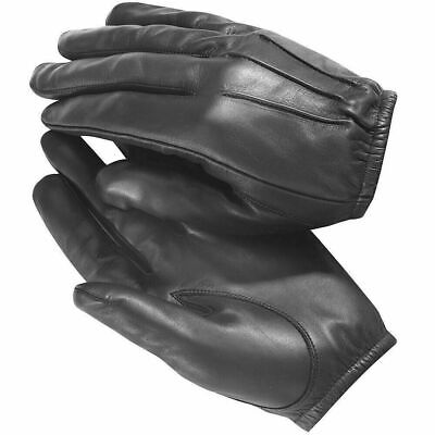 Mens Driving Gloves Unlined Gay Soft Genuine Real Leather Goatskin Bluf Schwarz • 9.99£