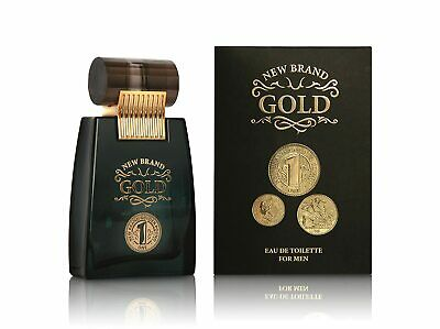 $ CDN13.26 • Buy GOLD 100 Ml By NEW BRAND PERFUMERIES EDT COLOGNE GIFT FOR HIM (NOTES=1MILLION)
