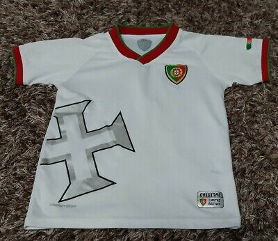 Kids Unisex Junior Portugal Football T-shirt Top Size XS JR Extra Small  • 3.99£