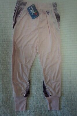 Muddy Puddles Thermals Striped Base Layer Leggings Pink Hollyhock 2 3 4 5 6 7 8 • 9.99£