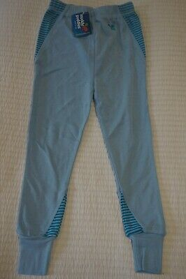 Muddy Puddles Thermals Striped Base Layer Leggings Dream Blue - 2 3 4 5 6 7 8 • 9.99£